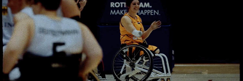Sylvana van Hees, rolstoelbasketballer
