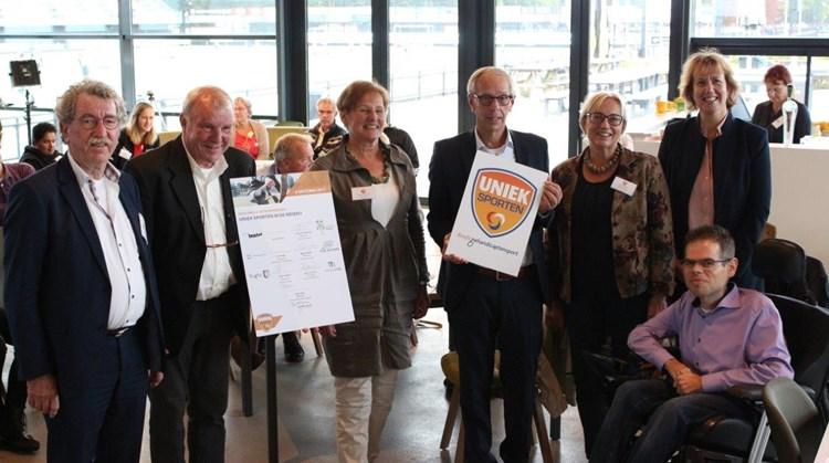 Geslaagde aftrapbijeenkomst Uniek Sporten regio 's-Hertogenbosch en Meierij afbeelding nieuwsbericht
