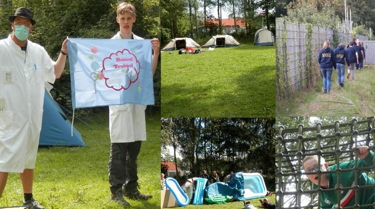 Scouting Blauwe Vogels op kamp afbeelding nieuwsbericht