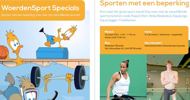 WoerdenSport Specials - Zaterdag 28 maart 2020 afbeelding nieuwsbericht