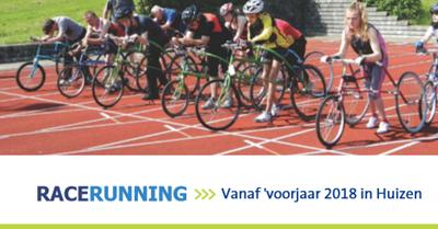 Kom op zaterdag 24 maart kennismaken met RaceRunning in Huizen afbeelding agendaitem