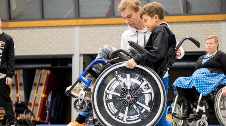 Rolstoelvaardigheidstraining met sportworkshops start in september afbeelding nieuwsbericht
