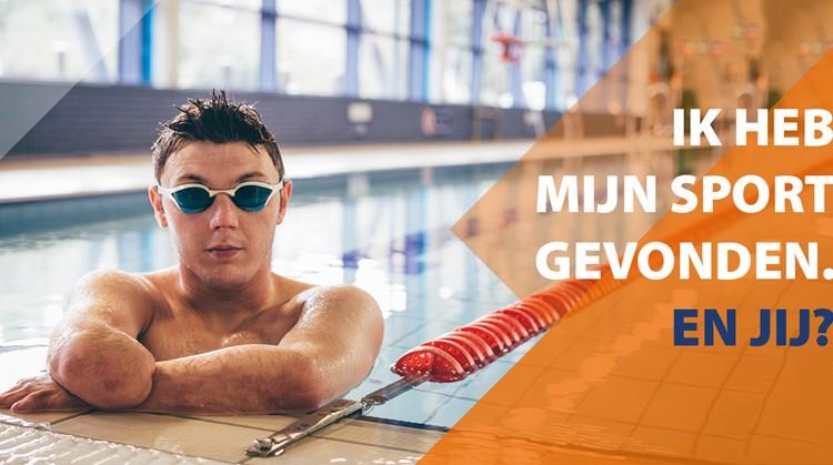 Gratis zwemdag met paralympiër Tim De Vries! afbeelding nieuwsbericht