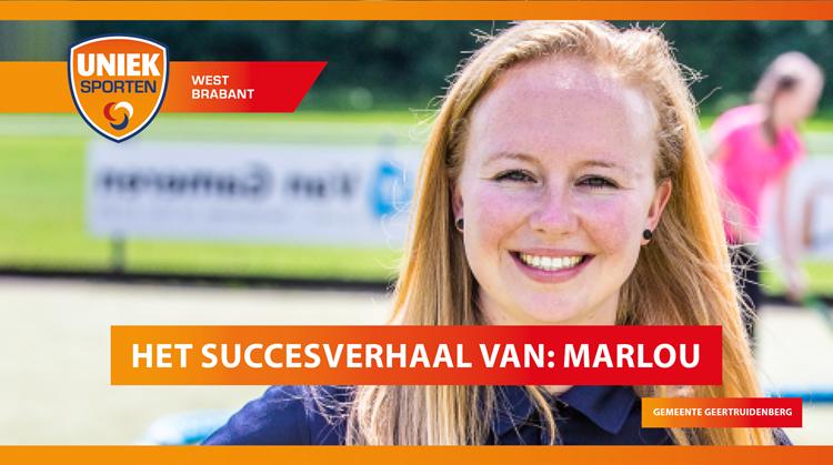 Het succesverhaal van sportcoach Marlou uit gemeente Geertruidenberg afbeelding nieuwsbericht