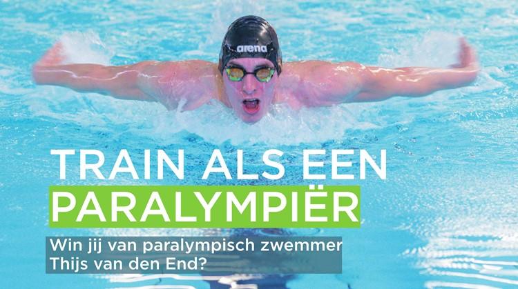 Train als een paralympiër met Thijs van den End in Woerden afbeelding nieuwsbericht