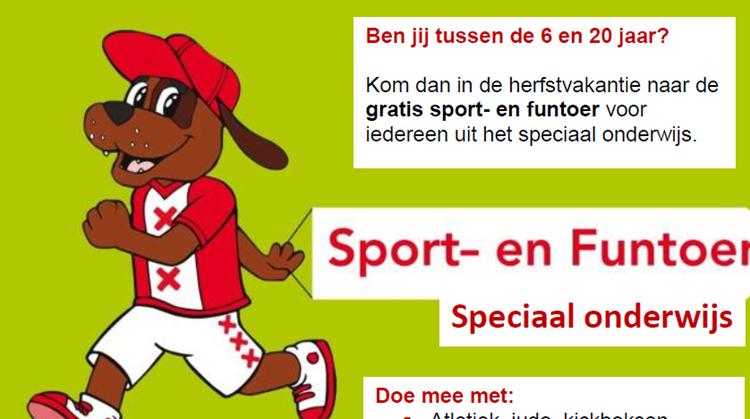 Sport - en Funtoer voor speciaal onderwijs afbeelding nieuwsbericht