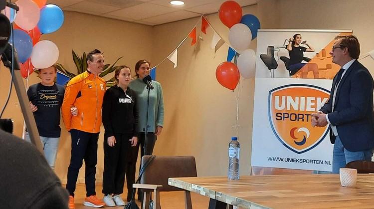 Huldiging Paralympiër Tim de Vries en opening Oktober Actief afbeelding nieuwsbericht