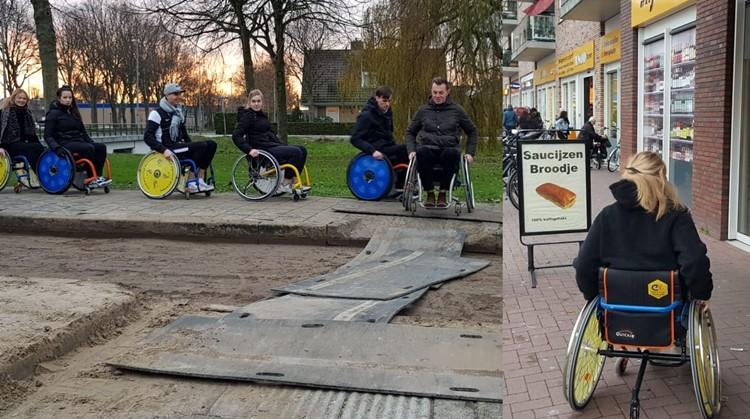 Het gebruik van een rolstoel in onze huidige maatschappij afbeelding nieuwsbericht