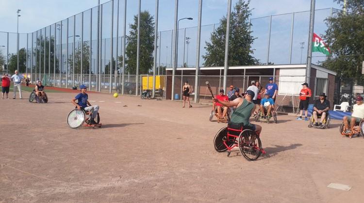Clinic Rolstoelsoftbal in Haarlem afbeelding nieuwsbericht