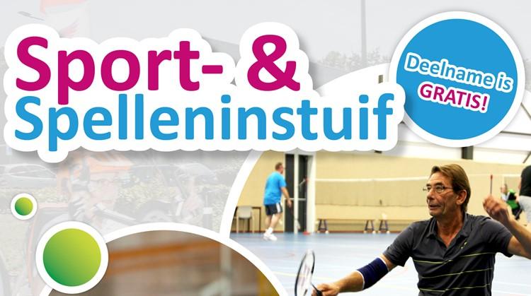 Sport- & spelleninstuif afbeelding nieuwsbericht