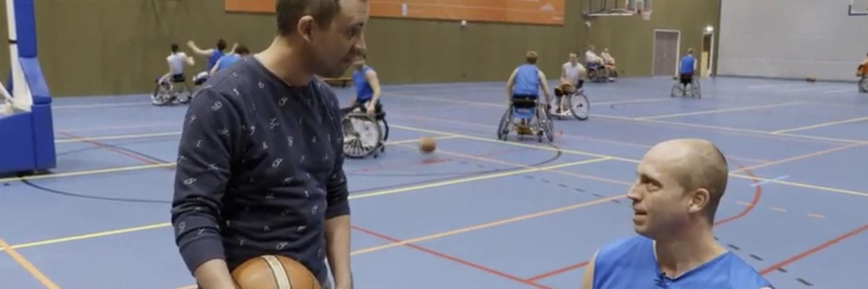 Jelle van der Steen, rolstoelbasketballer