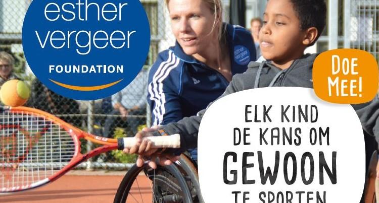 Kom kennismaken met (rolstoel)tennis! afbeelding nieuwsbericht