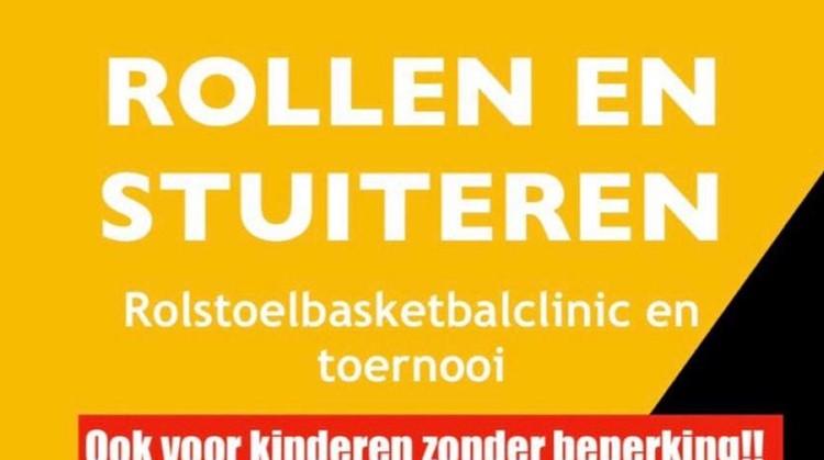 Rolstoelbasketbal event zondag 15 maart van 12:30 - 16:30 uur in Sporthal Houtrust afbeelding nieuwsbericht