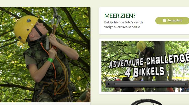 Adventure-challenge-4-bikkels in Vlaardingen afbeelding nieuwsbericht