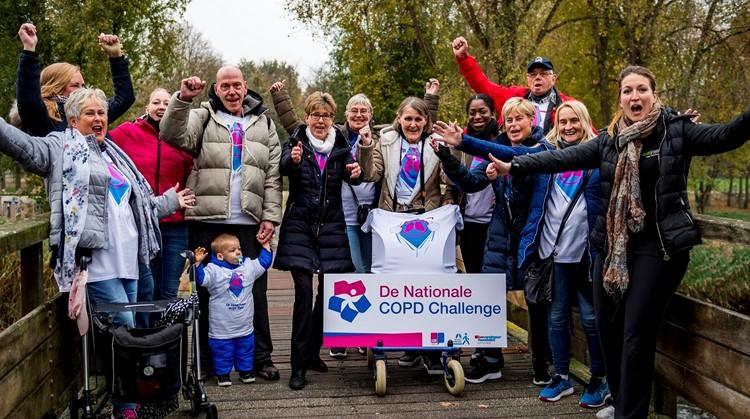 Nationale COPD Challenge Sportpark Uden afbeelding nieuwsbericht