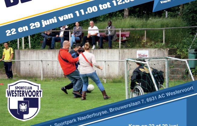 Beweeguur bij Sportclub Westervoort  afbeelding agendaitem