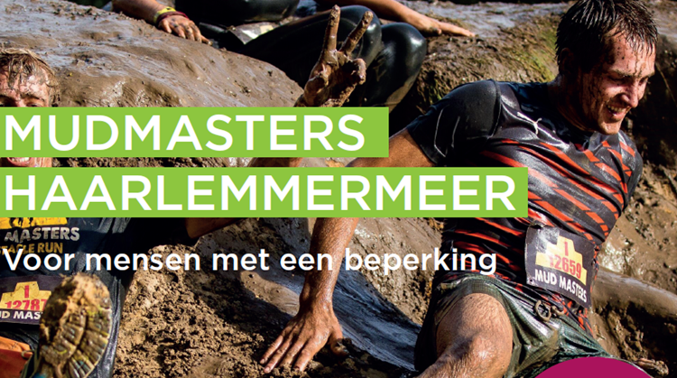 Mudmasters Haarlemmermeer voor mensen met een beperking afbeelding nieuwsbericht