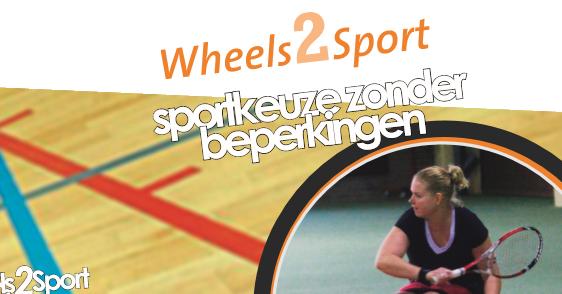 De avond van de Unieke Sporter: Wheels2Sport afbeelding nieuwsbericht