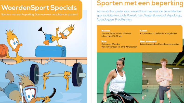WoerdenSport Specials - Zaterdag 28 maart afbeelding nieuwsbericht
