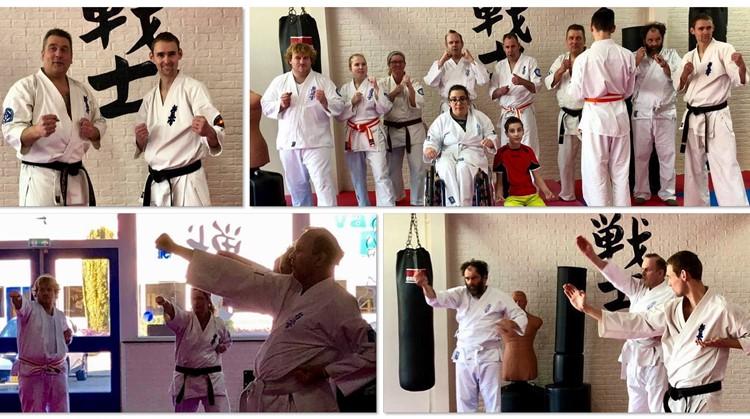 Yohan Dojo traint bij Budokai Senshi in Sommelsdijk afbeelding nieuwsbericht