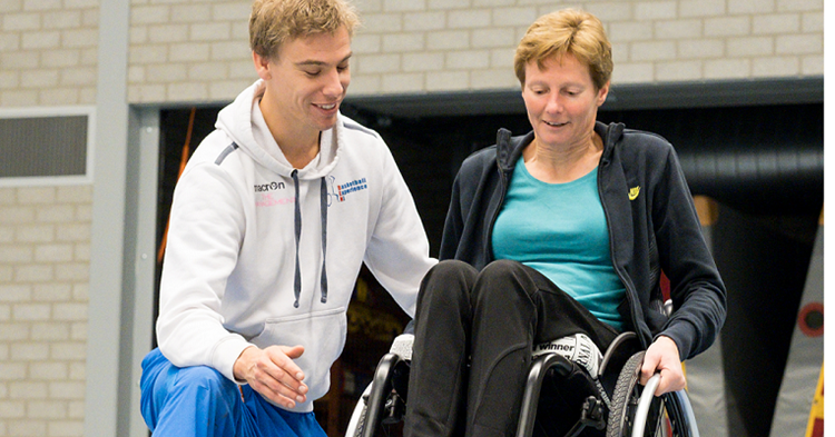 Meer vrijheid door rolstoeltraining afbeelding nieuwsbericht