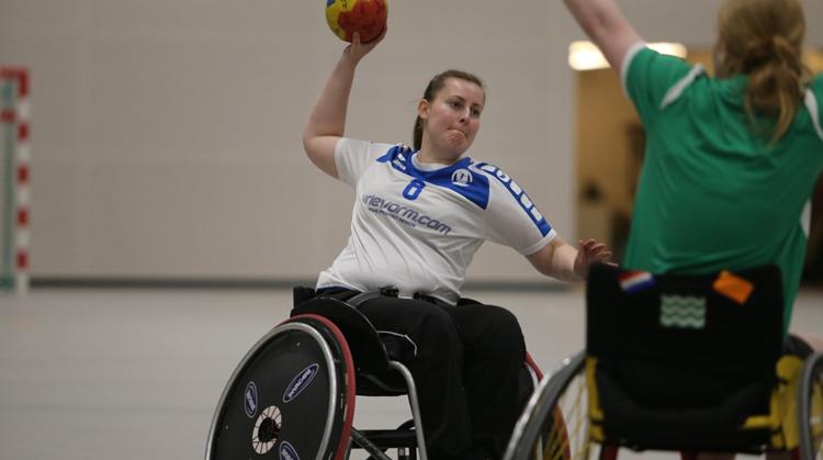 Kennismaken met rolstoelhandbal afbeelding nieuwsbericht