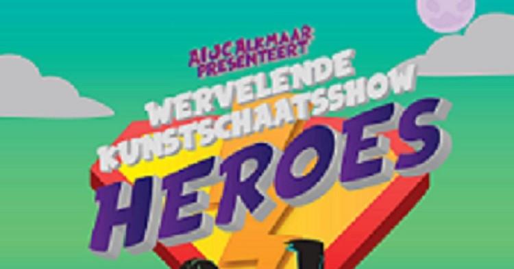 AIJC Alkmaar presenteert wervelende kunstschaatsshow HEROES afbeelding nieuwsbericht