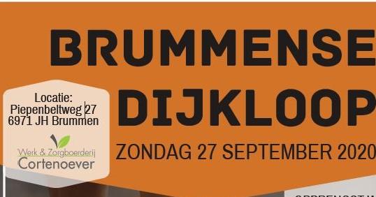Brummense dijkloop, ook voor racerunners en handbikers! afbeelding nieuwsbericht