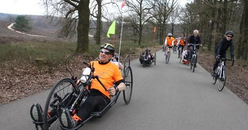 Holland Classic met handbike, tandem en racefiets vanuit Papendal afbeelding nieuwsbericht