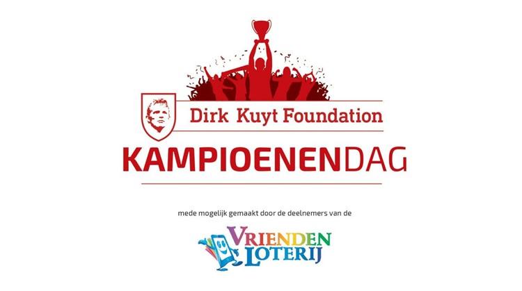Dirk Kuyt Foundation Kampioenendag op 30 mei afbeelding nieuwsbericht