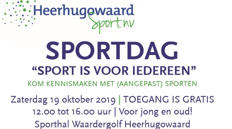 Sportverenigingsmarkt voor (aangepaste) sporten afbeelding nieuwsbericht