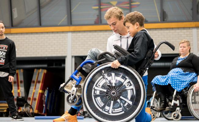 Sporten met een rolstoel (SMER) afbeelding nieuwsbericht