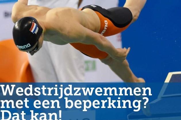 Open trainingen Parazwemmen KNZB afbeelding nieuwsbericht
