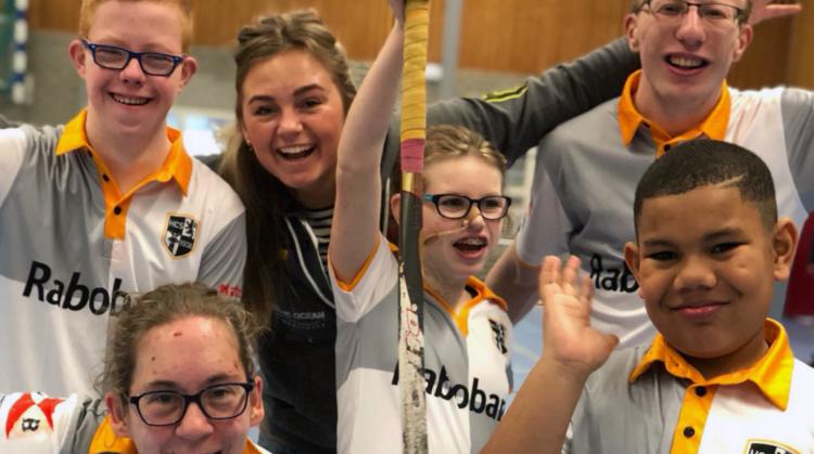 G-hockeyteam van HC Schiedam speelt zeer succesvol eerste toernooi in de Lier afbeelding nieuwsbericht