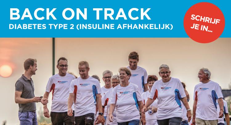 Informatieavond voor mensen met diabetes type 2: Back on track! afbeelding nieuwsbericht