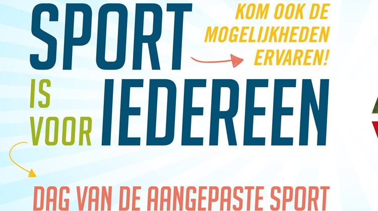 Dag van de aangepaste sport regio Eemland afbeelding nieuwsbericht