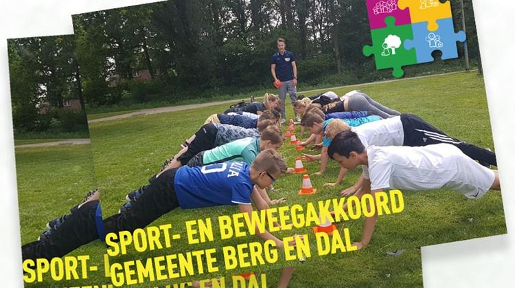 Lancering lokaal Sportakkoord Berg en Dal, doen jullie ook mee? afbeelding nieuwsbericht