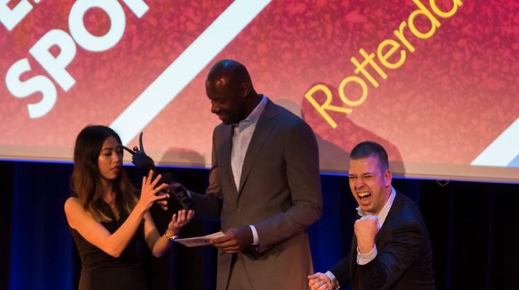 Rotterdam Basketbal wint Award Gehandicaptensport 2016 afbeelding nieuwsbericht