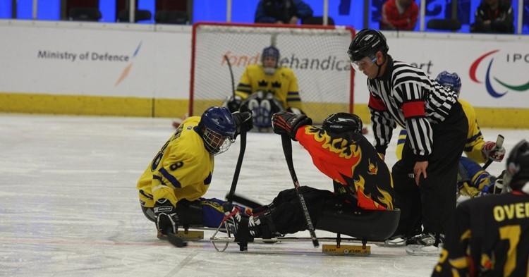 3 clinics Para-ijshockey in Haarlem afbeelding nieuwsbericht