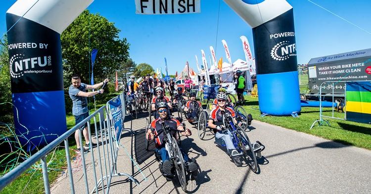 Wielersportbond NTFU blij met aangepast sporters bij Holland Classic afbeelding nieuwsbericht