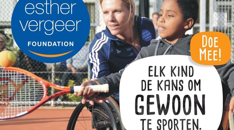 Tennis Clinic van de Esther Vergeer Foundation in de Sint Maartenskliniek afbeelding nieuwsbericht