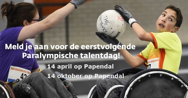 Paralympische talentdag NOC*NSF op Papendal afbeelding nieuwsbericht
