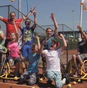 Open dag rolstoeltennis in Haren afbeelding agendaitem