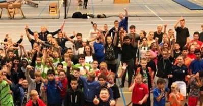 Uniek Sport Festijn voor (voortgezet) speciaal onderwijs afbeelding nieuwsbericht