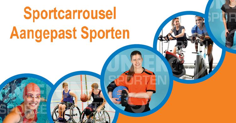 Sportcarrousel Aangepast Sporten Overbetuwe afbeelding nieuwsbericht