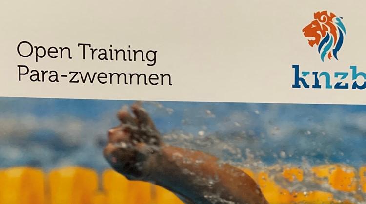 Open Training Para-zwemmen zaterdag 4 april in het Hofbad afbeelding nieuwsbericht
