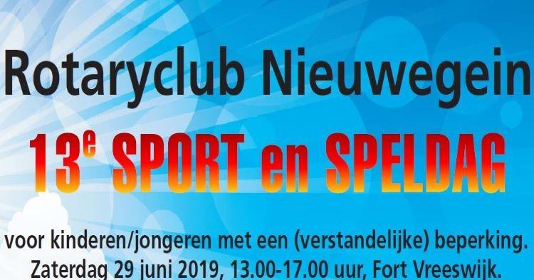 Rotary Nieuwegein: 13e Sport- en speldag op Fort Vreeswijk afbeelding nieuwsbericht