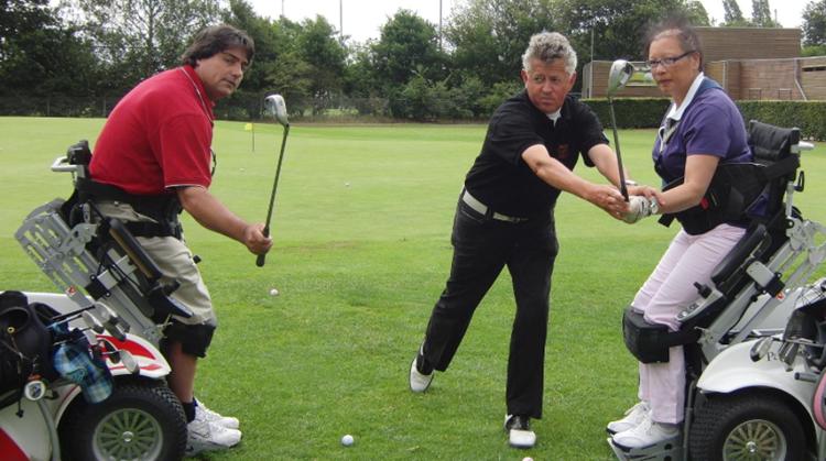 Golfles voor mensen met hersenletsel!? afbeelding nieuwsbericht