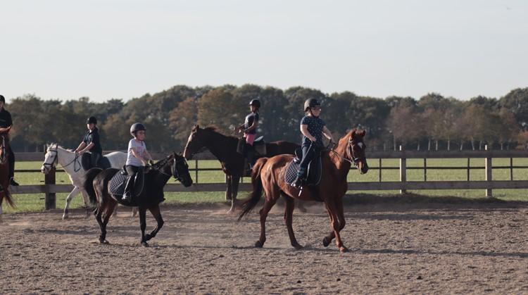 Young Riders Kanjerles van start gegaan bij manege 't Zandeind in Riel afbeelding nieuwsbericht
