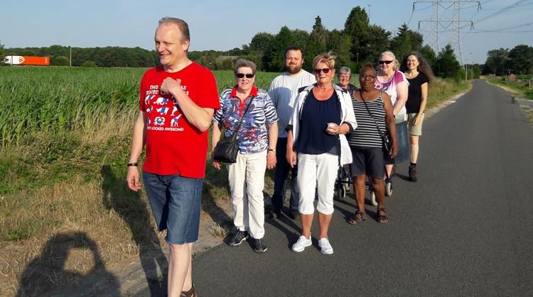 Omni wandel start wandelgroep vrijdag 5 april in Tilburg afbeelding nieuwsbericht